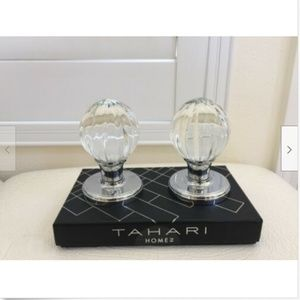 TAHARI HOME Set of 2 DOOR KNOBS